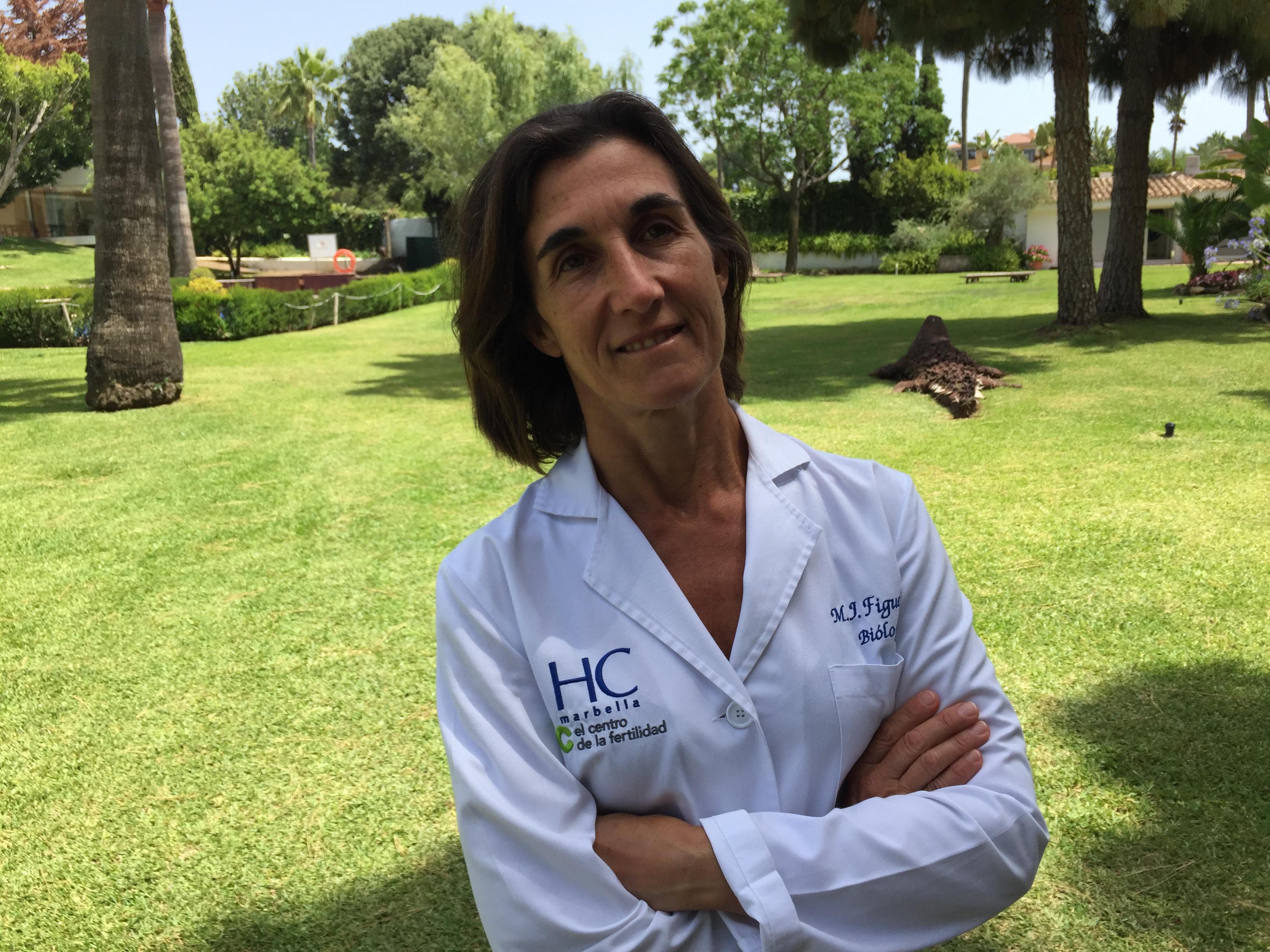María José, desde HC Fertility Marbella